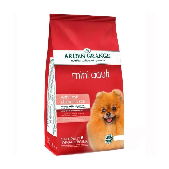 Arden Grange Mini Adult Dog Food - Fresh Chicken & Rice