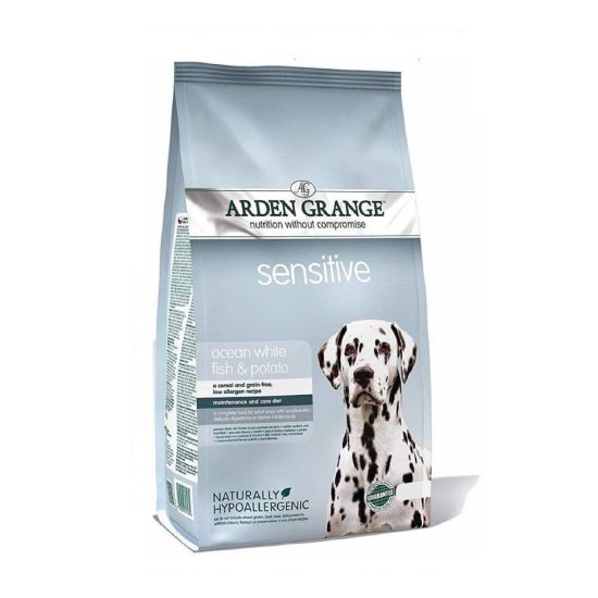 Arden Grange Sensitive Ocean White Fish & Potato Dog Food
