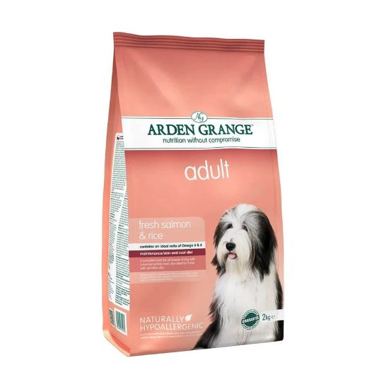 Arden Grange Adult Dog Food - Fresh Salmon & Rice