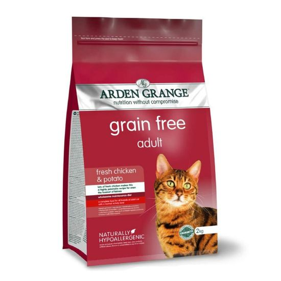 Arden Grange Grain Free Adult Cat Food - Fresh Chicken & Potato