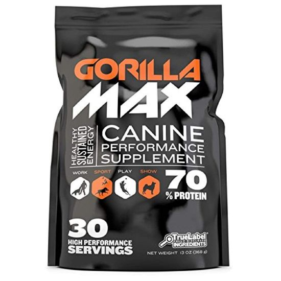 GorillaMax Canine Performance Supplement For Dog