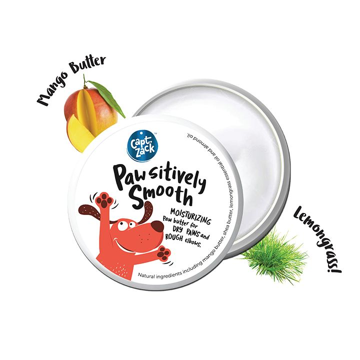 Captain Zack Paw'sitively Smooth Paw Butter