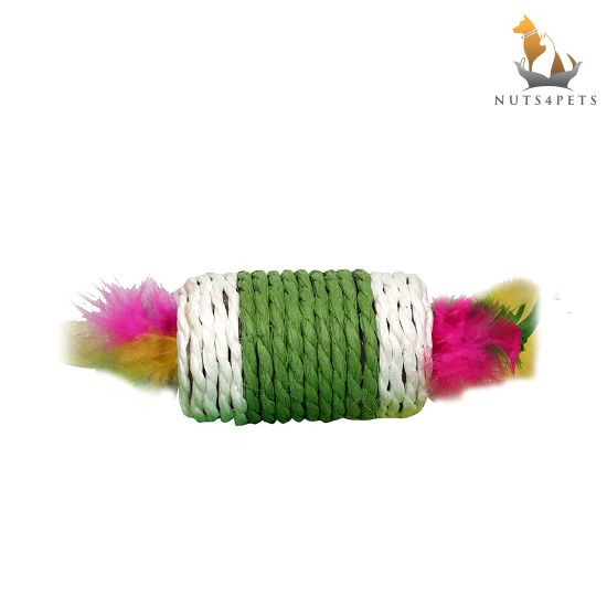 Nuts4Pets box with feather toy