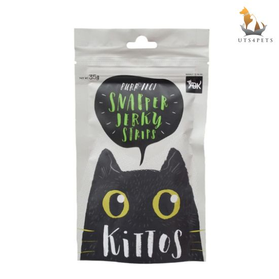 Kittos Snapper Jerky Strips