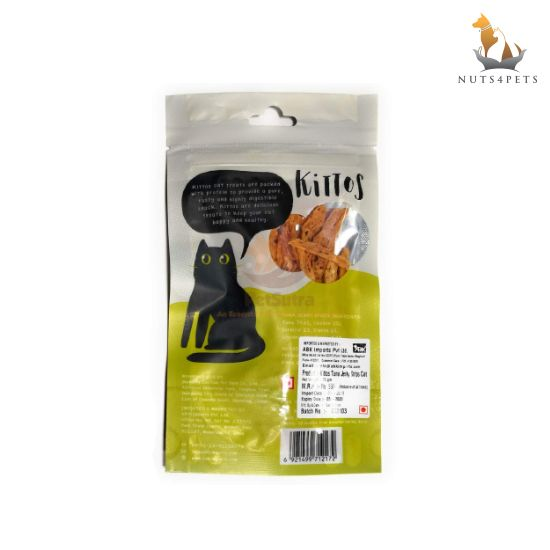Kittos Tuna Jerky Strips