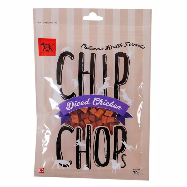 Chip Chops Diced Chicken Dog Treat