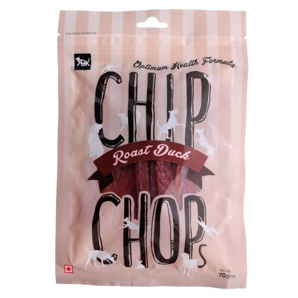 Chip Chops Roast Duck Slice Dog Treat