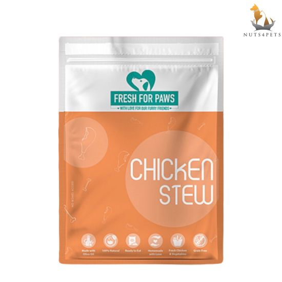 Fresh For Paws Fresh Dog Food (Chicken Stew) (100 gms) (Pack of 12)