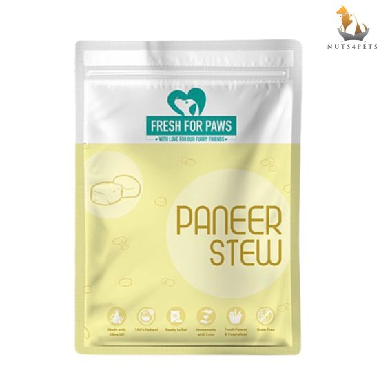 Fresh For Paws Fresh Dog Food (Paneer Stew) (100 gms) (Pack of 12)