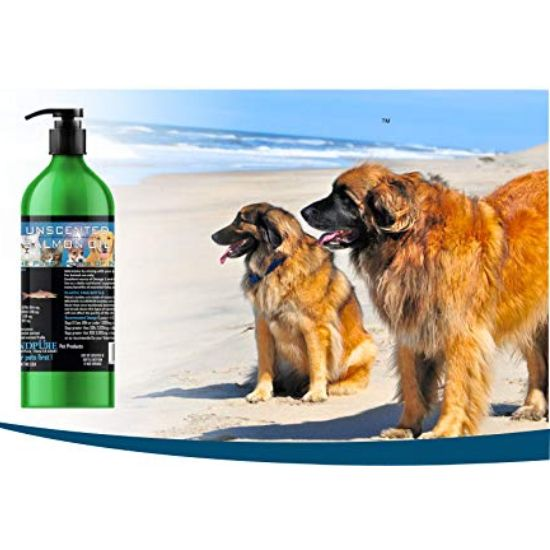 Iceland Pure Unscented Pharmaceutical Grade Salmon Oil Liquid Dog & Cat Supplement