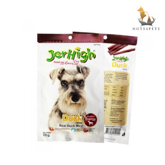 JerHigh Duck Dog Treats, 70 g