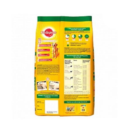 Pedigree 100% Vegetarian Dry Food for Adult Dogs