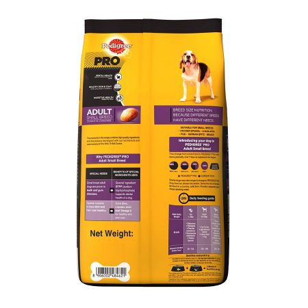 Pedigree Pro Dog Food for Small Breed Adults