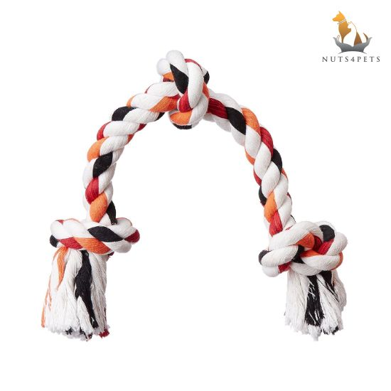 Nuts4Pets 3 knot Rope Toy